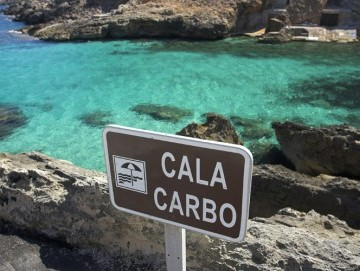Cala Carbó, the most incredible blue