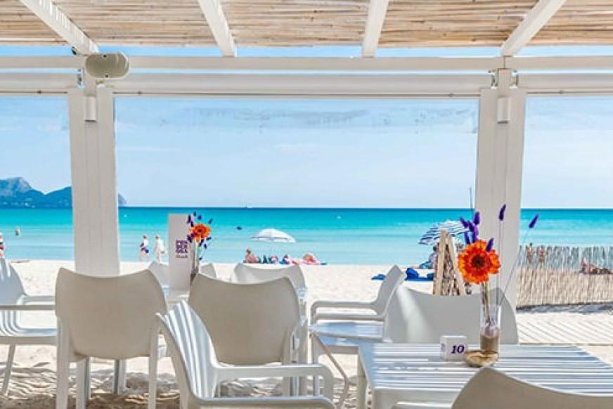Chiringuitos de playa en Mallorca